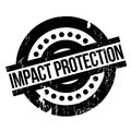 Impact Protection rubber stamp