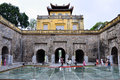 Imperial Citadel of Thang Long Stock Photo
