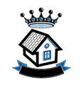 Imperial coat of arms, royal house conceptual symbol. Protection Royalty Free Stock Photo
