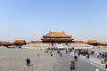 The imperial place china beijing palace palace palace museum ancient civilization of ancient architecture of ancient buildings Stock Photography