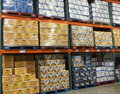Imported beers selling at store costco usa Stock Images