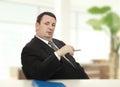 Imposing recruiter beginning stress interview