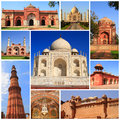 Impressions of india collage travel images Stock Images