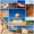 Impressions of israel collage travel images Stock Photography