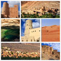 Impressions of oman collage travel images Stock Photo