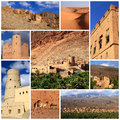 Impressions of oman collage travel images Royalty Free Stock Photos