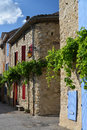 Impressions of provence little village in south france europe Stock Photo