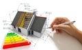 Improving energy efficiency Royalty Free Stock Photo