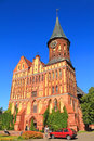 Inactive cathedral built in gothic style kaliningrad russia june the baltic city of kaliningrad Royalty Free Stock Image