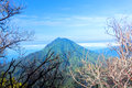 Inactive volcanoes at java indonesia Royalty Free Stock Photos