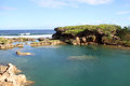 Inarajan natural pool Royalty Free Stock Photo