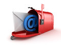 Inbox Concept with Mailbox