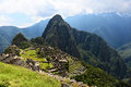 Inca city Machu Picchu Royalty Free Stock Photography
