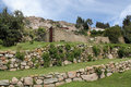 Inca Ruins,Bolivia Royalty Free Stock Photography