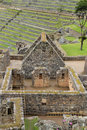 Inca's house  of Machu Picchu Royalty Free Stock Photo