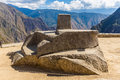 Inca wall in machu picchu peru south america example of polygonal masonry the famous angles stone ancient architecture Royalty Free Stock Image