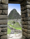 Inca window Stock Photo