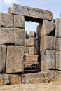 Incan ruins- Peru Royalty Free Stock Photo