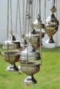 Incense burners Royalty Free Stock Photo