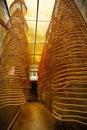 Incense spirals, Kun Iam temple, macau. Royalty Free Stock Photo