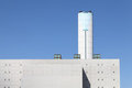 Incineration plant Royalty Free Stock Photos