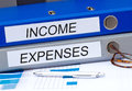 Income and Expenses Royalty Free Stock Photo
