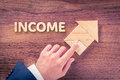 Income increase Royalty Free Stock Photo