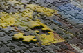 Incomplete Jigsaw Puzzle Royalty Free Stock Photo