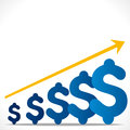 Increase business profit concept Royalty Free Stock Photo