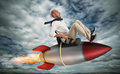 Increase the climb to success Royalty Free Stock Photo