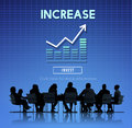 Increase enlarge expand extend growth rise concept Stock Photo