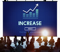 Increase Enlarge Expand Extend Growth Rise Concept Royalty Free Stock Photo