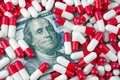 Increased generic drug prices concept