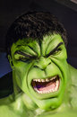 Incredible hulk in the famous wax museum madame tussauds london england Stock Photo
