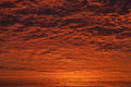 Incredible sunrise or sunset sky with clouds Royalty Free Stock Image