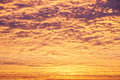 Incredible sunrise or sunset sky with clouds Stock Photos