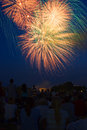 Independence Day Fireworks Royalty Free Stock Image