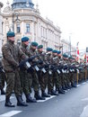 Independence Day, Lublin, Poland Stock Image