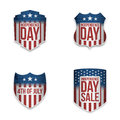 Independence Day patriotic vector Banners Set