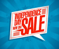 Independence day sale coupon design