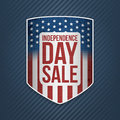 Independence Day Sale USA realistic Banner