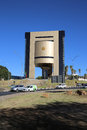 Independence memorial museum the at robert mugabe ave in windhoek namibia Royalty Free Stock Photo