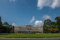 Independence Palace in Ho Chi Minh Royalty Free Stock Photo