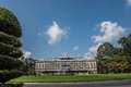 Independence Palace View Royalty Free Stock Photo