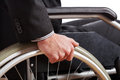 Independent diabled man Stock Photography
