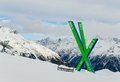 Index famous tracks big soelden austria Stock Images