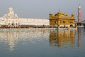 India amristar golden temple sri harimandir sahib in amritsar it is a central religions place of the sikhs Royalty Free Stock Photos