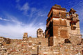 India, Chittorgarh: Citadel Royalty Free Stock Photo