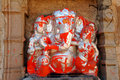 India, Chittorgarh: Lord Ganesh Stock Image