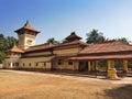 India goa hindu temple cityscape in a sunny day Stock Image